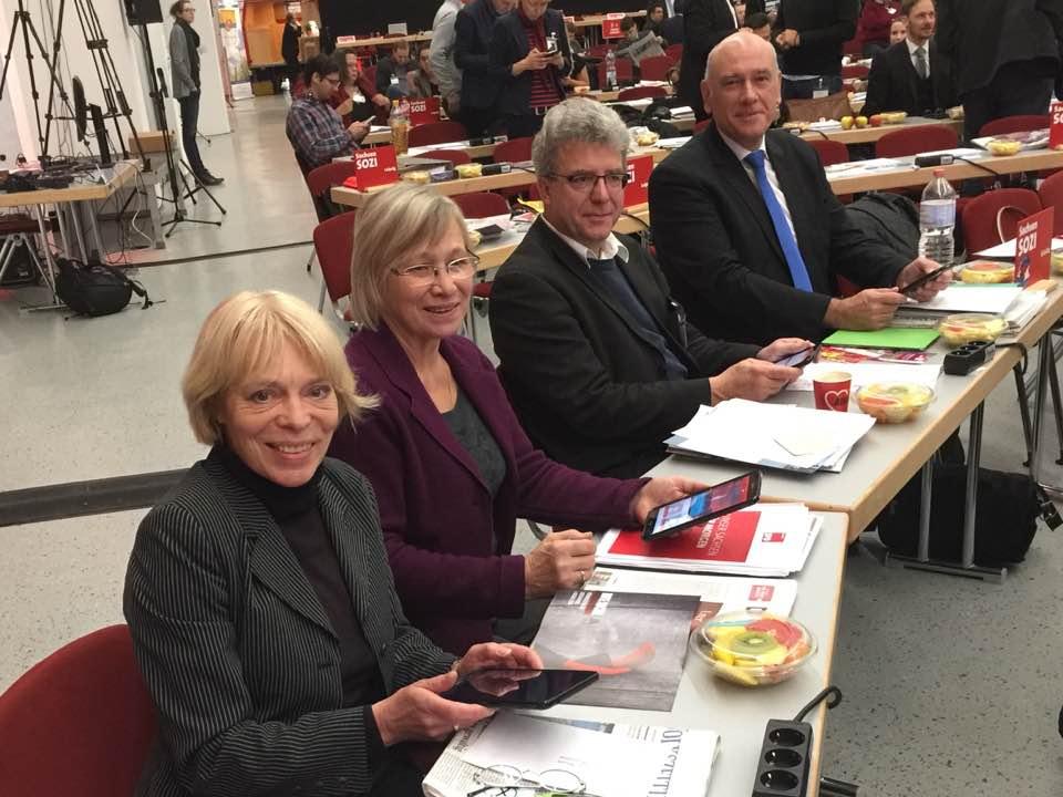 Unsere Delegation auf dem SPD-Landesparteitag
